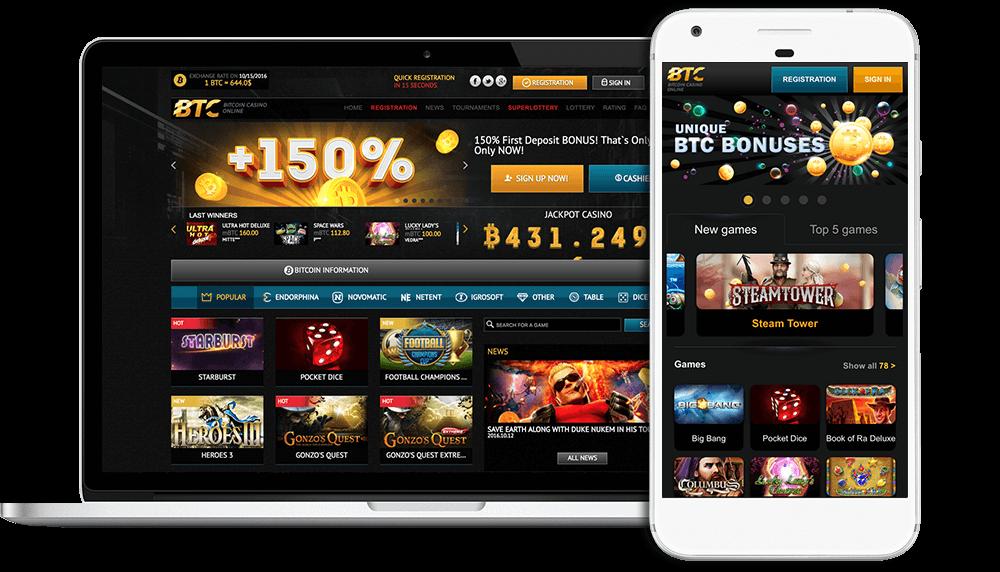 Menú de casino bitcoin en efectivo calgary