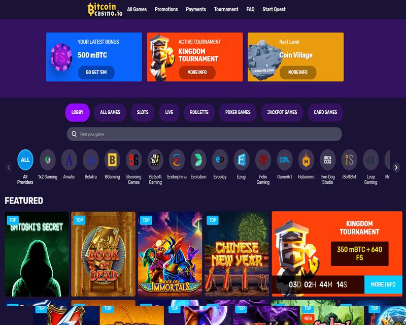 Bitcoin casino dados kopen